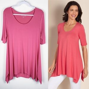 SOFT SURROUNDINGS✨Timely Tunic Top L